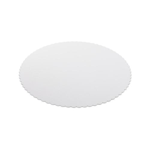 500x Tortenunterlagen aus Frischfaser Pappe Ø 20 cm