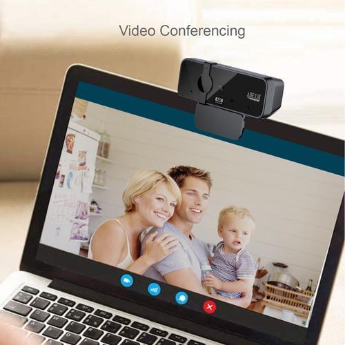 Adesso 8.0 MP Autofokus Webcam mit Dualmikrofon, Webcam