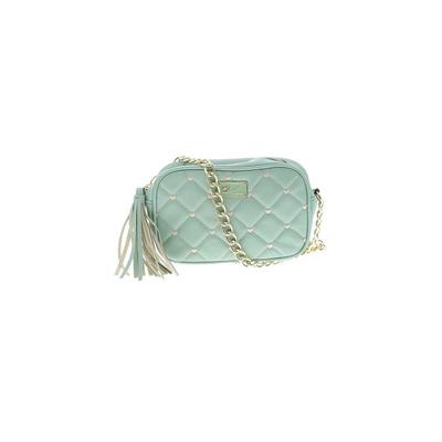 Luv Betsey by Betsey Johnson Crossbody Bag: Teal Solid Bags