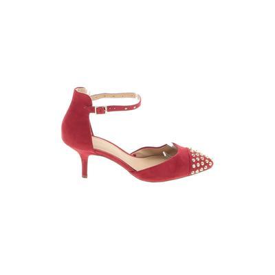 Trafaluc by Zara Heels: Red Soli...