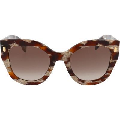 Sunglasses - Brown - Fendi Sunglasses