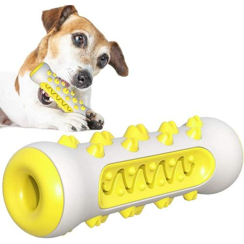 SOEKAVIA Hundespielzeug, Welpenspielzeug, Gummi-Welpenspielzeug, aggressives Hundekauspielzeug,
