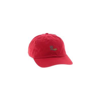 AHEAD Baseball Cap: Red Accessories