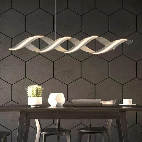 ZMH LED Pendelleuchte Esstisch Modern Hängelampe 29W 3000K Warmweiß Licht Esstischlampe