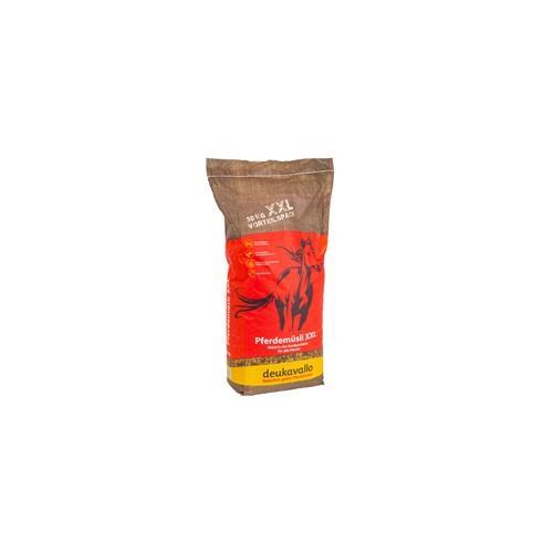 Deukavallo Pferdemüsli XXL Vorteilspack, Pferdefutter ohne Haferkörner, 30kg