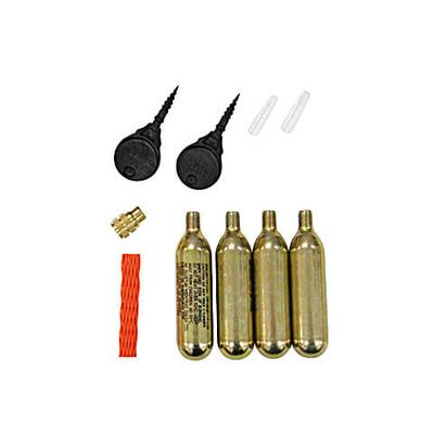 Tyre repair set for motorcycles / scooters / cars