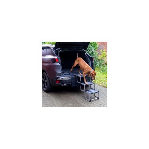 Hundetreppe 3-stufig, faltbar - Auto-Einstiegshilfe für Hunde
