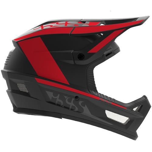 IXS Xult DH Downhill Helm, rot, Größe L XL