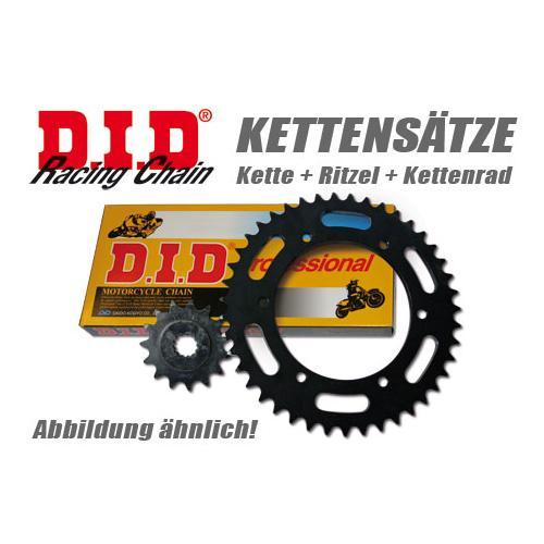 DID Kette und ESJOT Räder VX-Kettensatz Daelim VT 98-02 80 km/h, schwarz