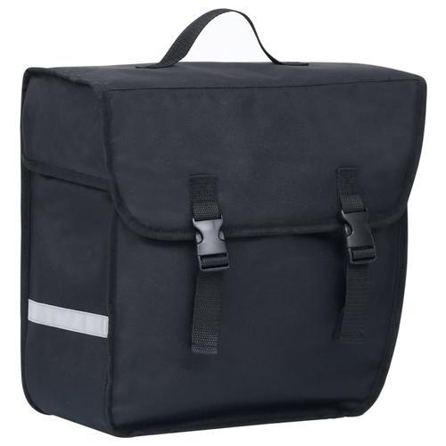 vidaXL Fahrradtasche für Gepäckträger Wasserdicht 21 L Schwarz