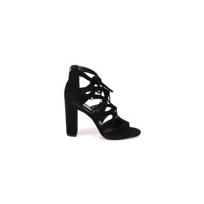 BCBGeneration Heels: Black Solid...