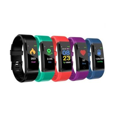 Smart Bracelet with Health Monitor: Green/One