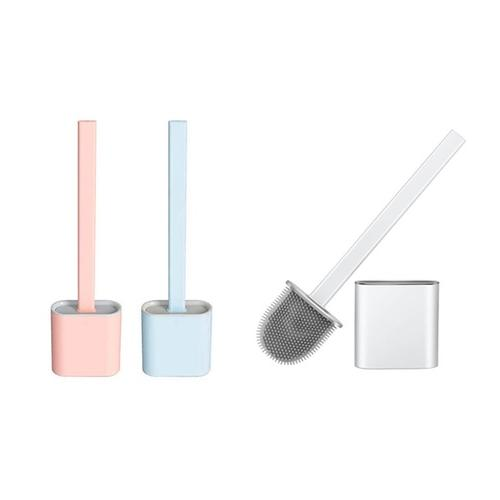 Silikon-WC-Bürste: Blau/ 2