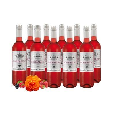 10 Flaschen Spanischer Rosado Rosé-Wein
