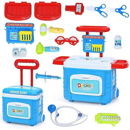 Spielzeug Kinder Arztkoffer blau