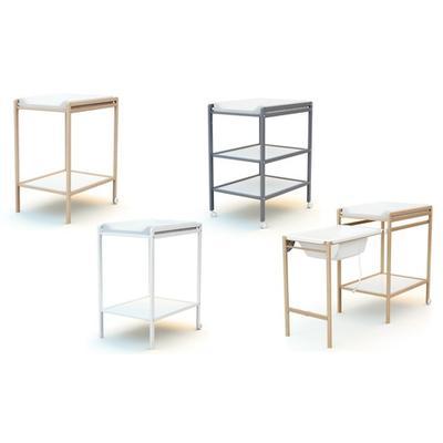 Table à langer : 1 étagère / laq...