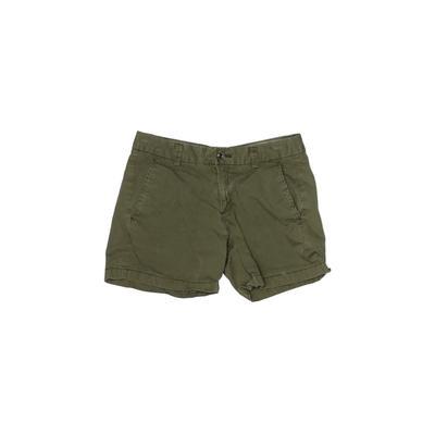 Uniqlo Khaki Shorts: Green Solid Bottoms - Size 0