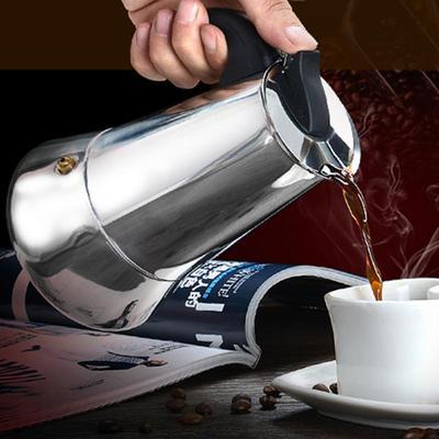 Cafetière en acier inoxydable, m...