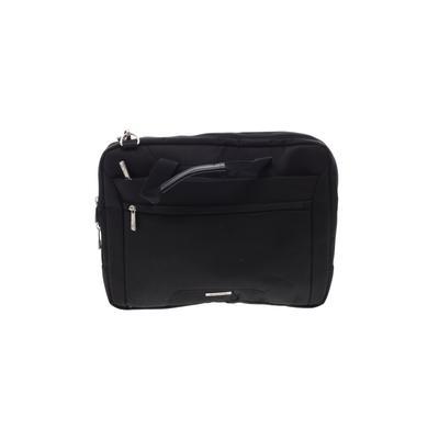Samsonite Laptop Bag: Black Solid Bags
