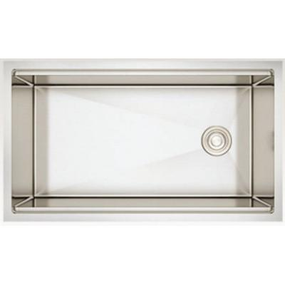 33-in. W Stainless Steel Kitchen Sink With 1 Bowl And 16 Gauge - American Imaginations AI-34395