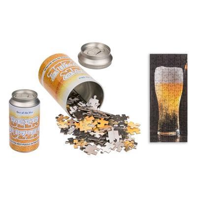 Puzzle de verre de bière 102 pièces avec emballage en forme de canette : x1
