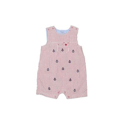 Little Me Short Sleeve Outfit: Red Stripes Bottoms – Size 12 Month