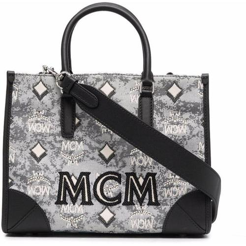MCM Handtasche mit Jacquardmuster