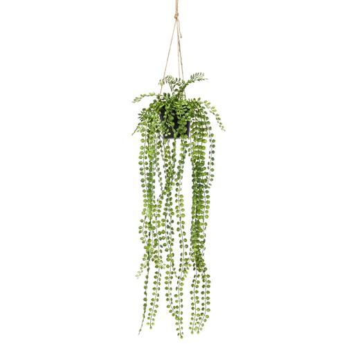 Emerald Kunstpflanze Ficus Pumila Hängend mit Topf 60 cm