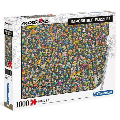 Clementoni Puzzle Mordillo Impossible 1000 Teile