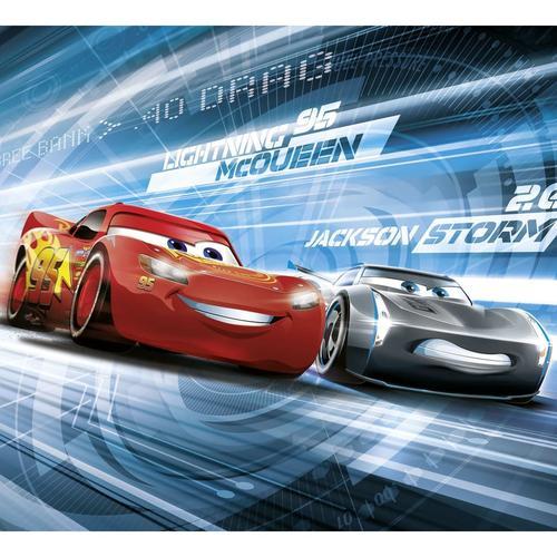Komar Fototapete Cars Simulation 184 x 254 cm Rot