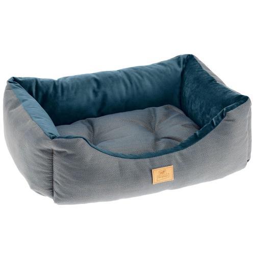 Ferplast Hunde- und Katzenbett Chester 80 Blau