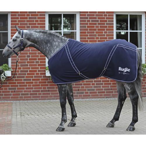 Covalliero Fleece-Pferdedecke RugBe Classic 145 cm Marineblau
