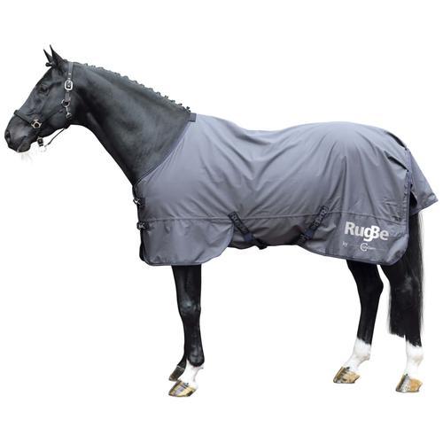 Covalliero Outdoor-Pferdedecke RugBe Zero 135 cm Grau