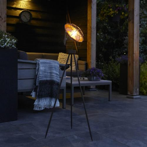 Luxform Solar LED Garten-Studiolampe Dresden