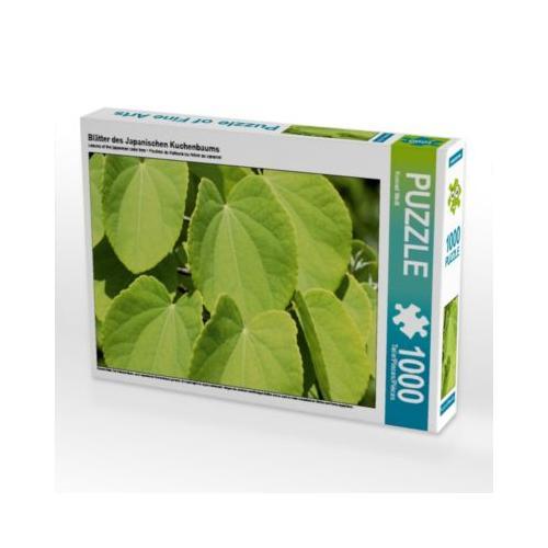 Blätter des Japanischen Kuchenbaums Foto-Puzzle Bild von Konrad Weiß Puzzle