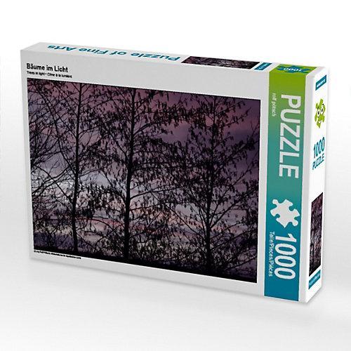Bäume im Licht Foto-Puzzle Bild von ropo13 Puzzle