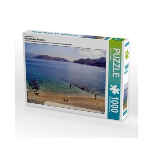 Strand Küste Buchten Foto-Puzzle Bild von Helmut Schneller Puzzle