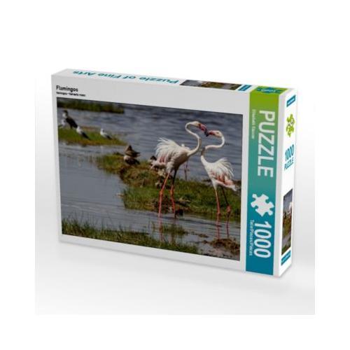 Flamingos Foto-Puzzle Bild von Elisabeth Stanzer Puzzle