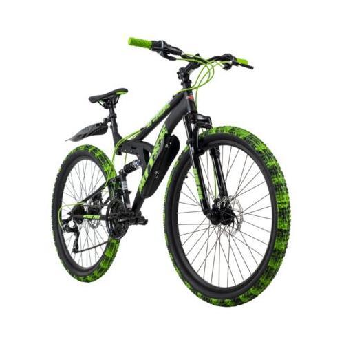 Mountainbike Fully 26 Zoll Bliss Pro Mountainbikes, Rahmenhöhe: schwarz