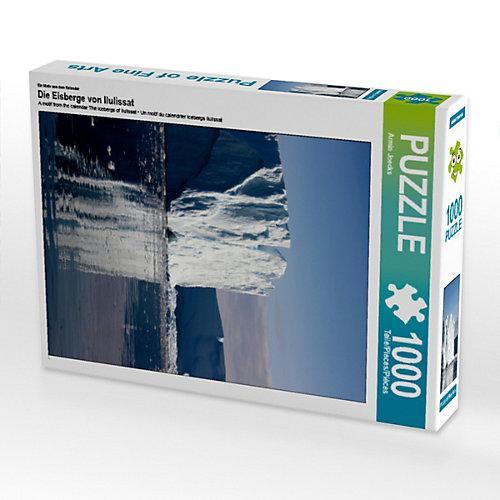 Die Eisberge von Ilulissat Foto-Puzzle Bild von Armin Joecks Puzzle