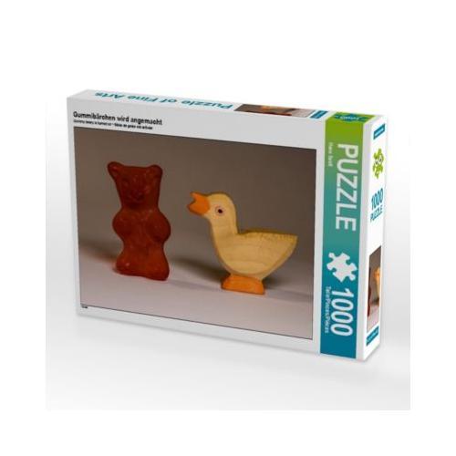 Gummibärchen wird angemacht Foto-Puzzle Bild von Hans Seidl Puzzle