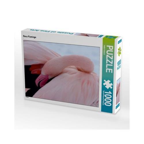 Rosa Flamingo Foto-Puzzle Bild von Heike Hultsch Puzzle