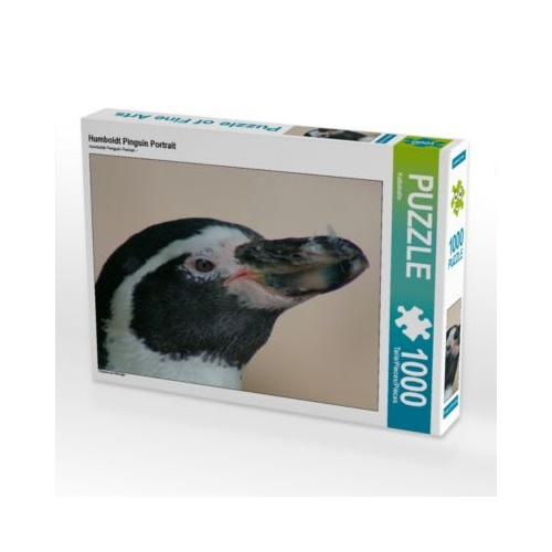Humboldt Pinguin Portrait Foto-Puzzle Bild von Kattobello Puzzle