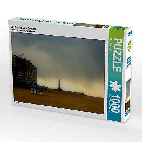 Der Strand von Ostende Foto-Puzzle Bild von Alain Gaymard Puzzle