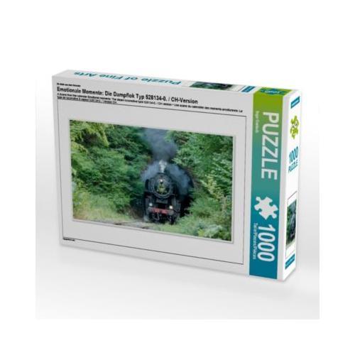 Emotionale Momente: Die Dampflok Typ 528134-0. / CH-Version Foto-Puzzle Bild von Ingo Gerlach Puzzle