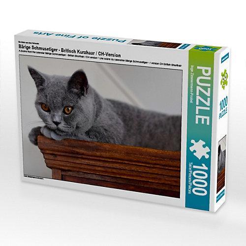 Bärige Schmusetiger - Britisch Kurzhaar / CH-Version Foto-Puzzle Bild von izp-design Puzzle