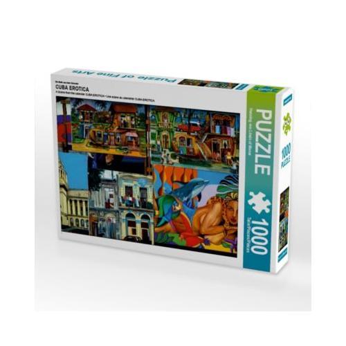 CUBA EROTICA Foto-Puzzle Bild von Henning von Loewis of Menar Puzzle
