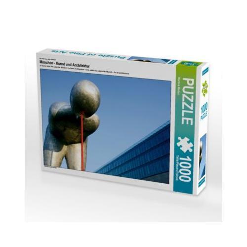 München - Kunst und Architektur Foto-Puzzle Bild von Martina Marten Puzzle