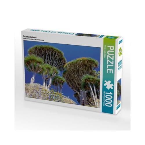 Drachenbäume Foto-Puzzle Bild von Klaus Lielischkies Puzzle