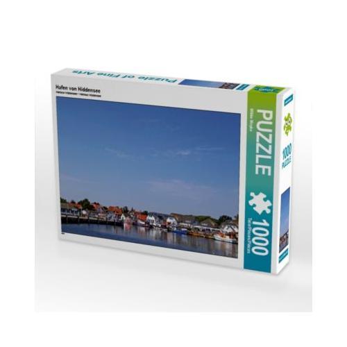 Hafen von Hiddensee Foto-Puzzle Bild von Wibke Woyke Puzzle